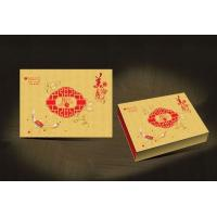 Quality 15*12*3(inch) CMYK print Chinese traditional Mooncake box high quality with excellent hand wholesale