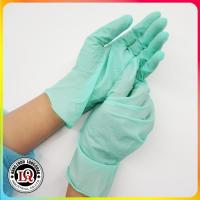 China Disposable latex examination glove malaysia on sale