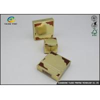 Quality Coated Paper Cosmetic Packaging Box Embossing Finish For Skin Care Products wholesale