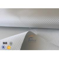 Cheap Aluminized Plated Fiber Glass Cloth Decoration Silver Coated Fiberglass Fabric for sale