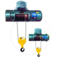 Quality Transfer Cars Electric Wire Rope Hoists with Lifting Capacity 0.5~50ton CD, MD Type wholesale