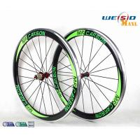 Quality 50mm Clincher Bicycle Aluminum Road Bike Wheels With Mrcarbon Logo wholesale