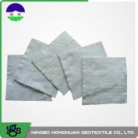 Quality 100% Polyester Continuous Filament Nonwoven Geotextile Filter Fabric Grey Color wholesale