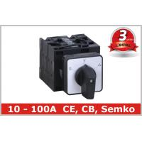 Quality Panel Installation Star Delta Hand Off Auto Selector Switch 25A 32A 40A wholesale