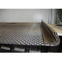 China Crimped Wire Mesh Screen For Mining Stone Crusher Vibrating Woven Wire Screen on sale