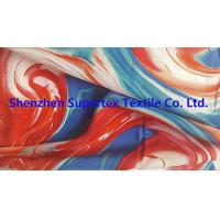 Quality 60GSM Viscose Rayon Fabric 75GSM Reactive Print For Garment Or Decoration wholesale