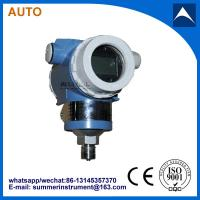 Quality direct mount 1/2NPT or 1/4NPT thread connection flush pressure transmitter with low price wholesale