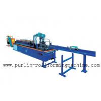 Quality PLC Control System High Speed Light Stud Track Roll Forming Machine wholesale