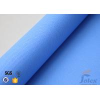 Quality 3732 Blue Silicone Coated Fiberglass Fabric Plain Weave High Temperature wholesale