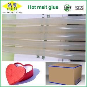 Quality Translucent EVA White Hot Glue Sticks Quick Drying Hot Melt Adhesive Stick wholesale