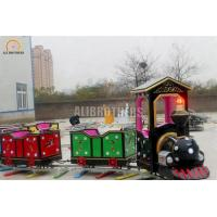 Quality Indoor Or Outdoor Amusement Train Rides , Electric Train Rides 220 V 50 Hz wholesale