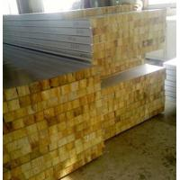 Quality Glass Wool Insulated Roof Panels Foam Insulation Panels 80Mm Thickness wholesale