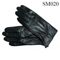 Quality Men sheep leather gloves high quality SM020 men leather glove warm gloves wholesale