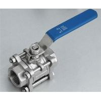 China Floating 3 - pc  Ball Valves Stainless Steel For High Pressure Welding End on sale