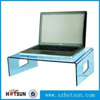 Quality wholesale custom factory price clear acrylic laptop stand wholesale