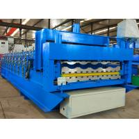 Quality Automatic Roofing Sheet Roll Forming Machine Double Layer Corrugated For Building wholesale