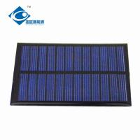 China 0.65W 6V cheapest solar panel photovoltaic for DIY tool ZW-9060 Poly Epoxy Resin Solar Panel on sale