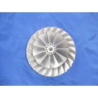 Quality plaster mould aluminium alloy castings Compressor wheel with ISO wholesale