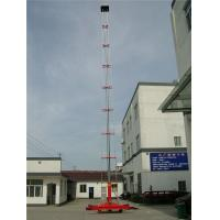 Quality Single Ladder Anti - Rotating Hydraulic Work Platform With Telescoping Lift GTTY-25B wholesale