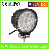 China Hot-Sale 42W Super bright LED Work Light for Truck LED automotive Work Lights on sale