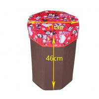 Cheap Customized cute cartoon pattern red storage box bag for colleting toys for sale
