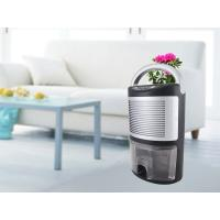 1000ml Water Tank Portable Electric Dehumidifier Retractable Handle Removable Front Grill