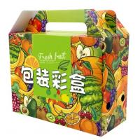 Quality Flat Packing Color Printed Corrugated Paper Box For Fruit Packaging wholesale