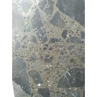 Quality Maron Emperador Dark Quartz Stone Tiles Recyclable Feature Eco - Friendly wholesale