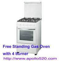 Quality 4 Burner Gas Stove Cooker Free Standing wholesale