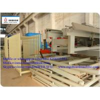 China Blue 54 KW Power MgO Board Production Line With Double shaft Mixing machine on sale