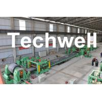 Quality 0.3 - 3.0mm / 0.5 - 3.0mm Steel Coil Cut To length Machine Line With Auto Stacker System wholesale