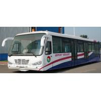 Quality Durable Low Carbon Alloy Steel Body Nice Airport Shuttle Bus With Thermal King AC System wholesale