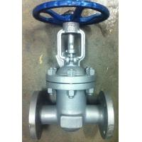 Quality GB Standard PN16 Flanged Ends Cast Steel Gate Valve For Oil Industry wholesale