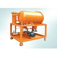 Quality Fuel Oil Hydraulic Oil Filtration Equipment Oil Water Separation 600 L/hour wholesale