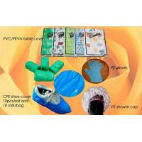 China PP/PE Sleeve Cover, CPE Shoe Cover, PE Apron on sale
