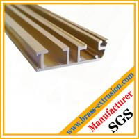 Quality window door frame Cu Zn Pb Fe brass channel profiles wholesale