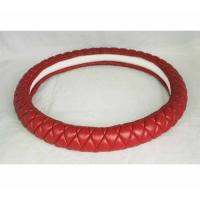 Quality Lambskin hot sell Kuwait Russia Peru car steering wheel cover from Factory wholesale
