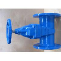 Quality ISO5752 Ductile Iron Valves Resilient Seated Gate Valve With EPDM / NBR Disc wholesale