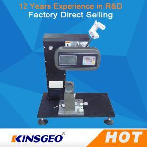 Quality Charpy Izod Imapct Rubber Testing Machine / Melt Flow Index Units ISO179-2000 wholesale