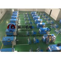 Quality Low Noise 7 Pcs Alloy Wire Bunching Machine With Touch Screen Operation wholesale