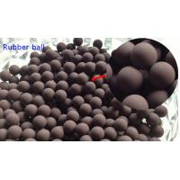 Quality 20MM Valves / Bearings Silicone Rubber Ball 70 Shore High Temprature Resistant wholesale