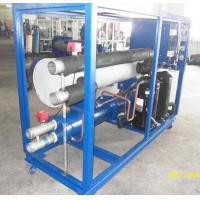 Quality Box Type Scroll Compressor Water Cooled Water Industrial Chiller , RO-30W 99.91KW R22 wholesale