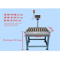 Quality 100kg 5g Rc6060 RS232 Conveyor Rollers Scale Steel Wireless With PDA wholesale
