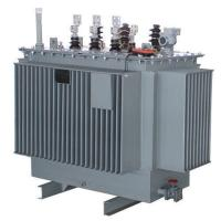China Oil Immersed Power Transformer S11-M, Hermetically Sealed/ Toroidal Coil Structure on sale
