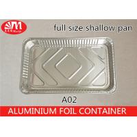 China Household Full Size Aluminum Steam Table Pans 5360ml Volume Safe Material on sale