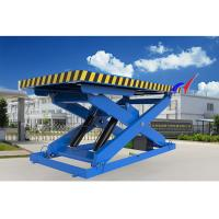 Quality Electric Or Manual Fixed Hydraulic Table Lift With Fixed Loading / Unloading Platform wholesale