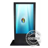 Quality 65 Inch IR Touchscreen Wifi Digital Signage For Advertising Display Android Operation System wholesale