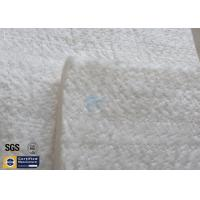Quality High Silica Fiberglass Needle Mat 25MM 130KG 1260℃ Thermal Insulation 96% wholesale