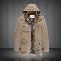 Quality New arrival winter designer thickening plate coat,pure colour b-urberry male fashion coat wholesale