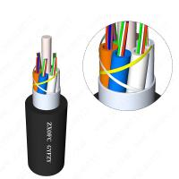 Cheap All Dry GYFZY Fire Resistant Cable / Stranded G652D Loose Tube Fibre Cable for sale